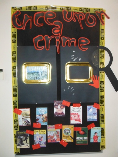 Once Upon A Crime Display