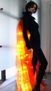 Katniss' Fire Cape