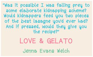 Love & Gelato Quote
