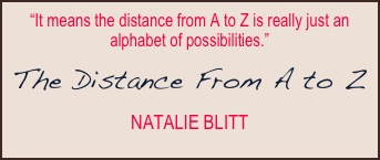 The Distance from A to Z Quote 1