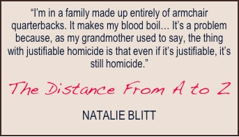 The Distance from A to Z quote