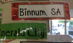 Binnum Signpost