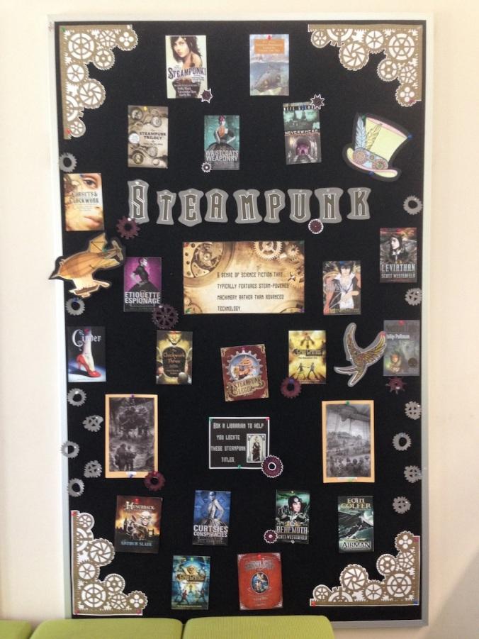 Steampunk display 1