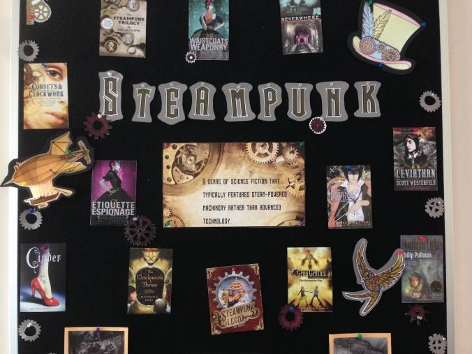 Steampunk display 2